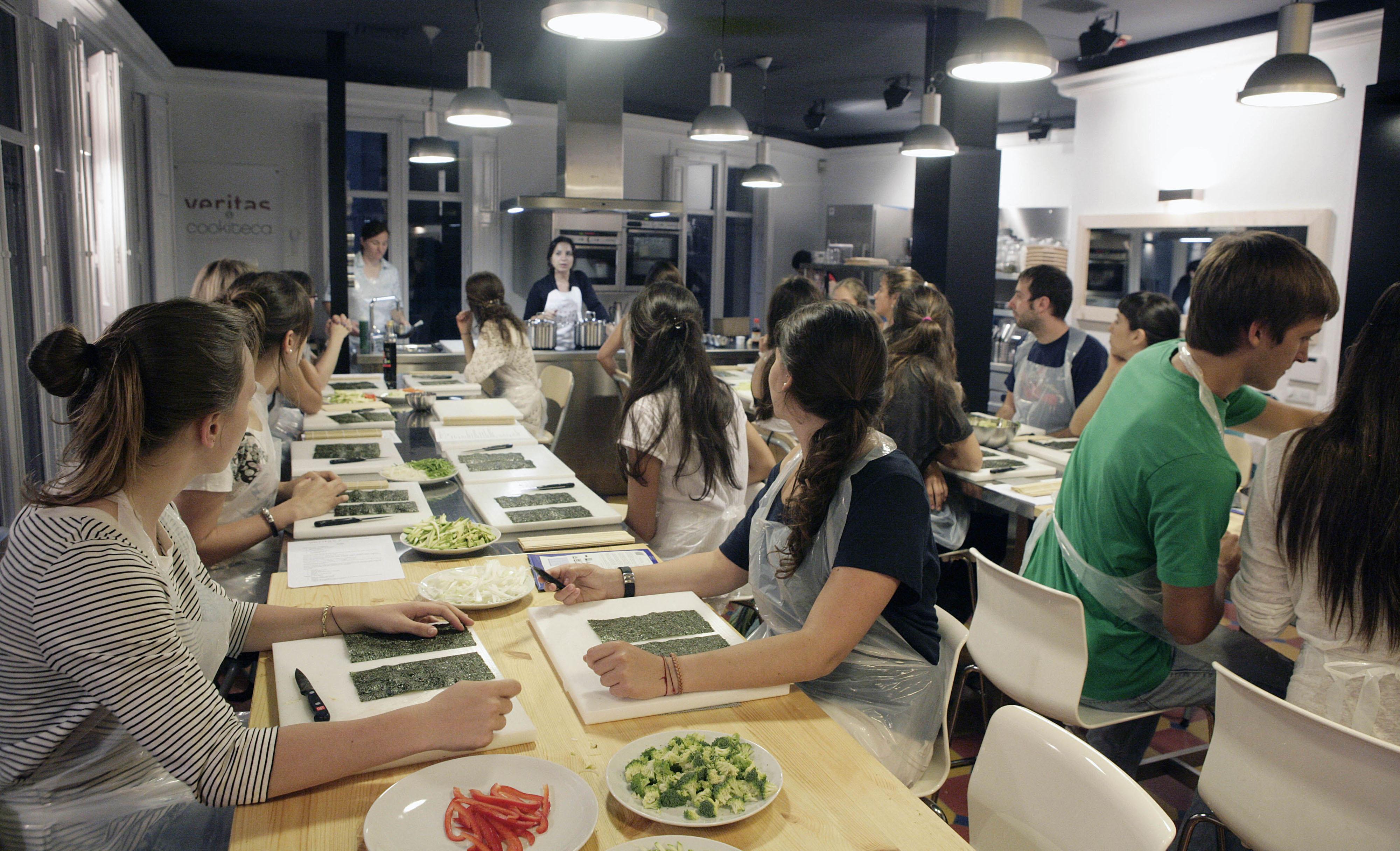 Clases Cocina Barcelona | Taller De Cocina Barcelona Idea De La Imagen De Inicio