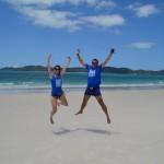 Desde Whiteheaven beach, Australia.