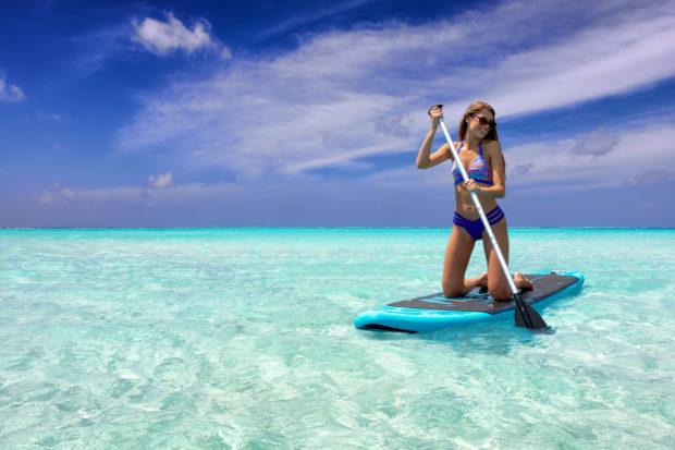 paddle surf Maldivas