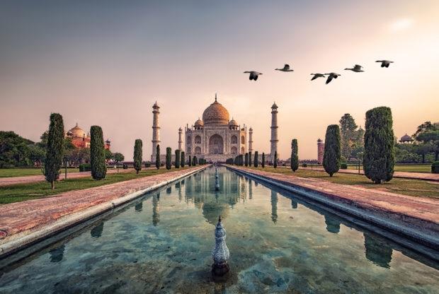 Siete maravillas del mundo. Taj Mahal
