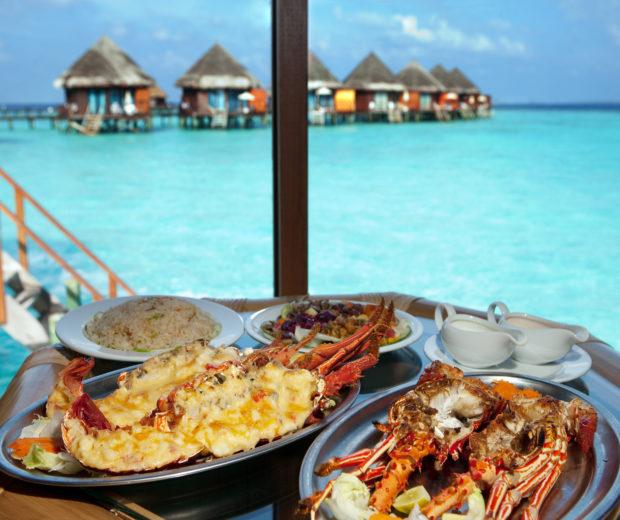 comida Maldivas