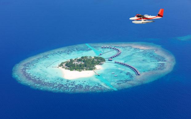 vuelo hidroavión Maldivas