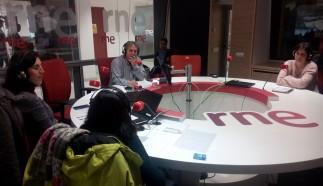 Mar furró hablando en RTVE sobre nuestros viajes Sostenibles y de Voluntariado