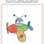 """Maria Guerrero una niña de 5 años, ganadora de nuestro concurso """"Dibuja nuestra mascota"""""""