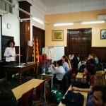 Tarannà viajes con sentido, con los jóvenes estudiantes del Centro de Estudios del Prat.