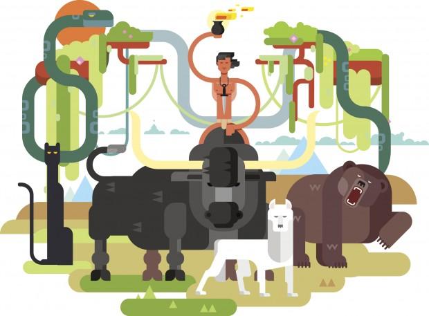 Los Monos Banderlog. Viaje a India
