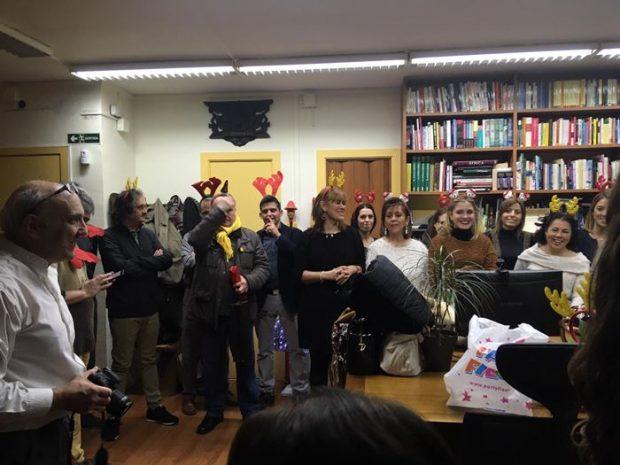 Cena de Navidad 2018 en Tarannà