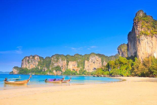 Las 10 Mejores Playas de Asia- Railay Beach