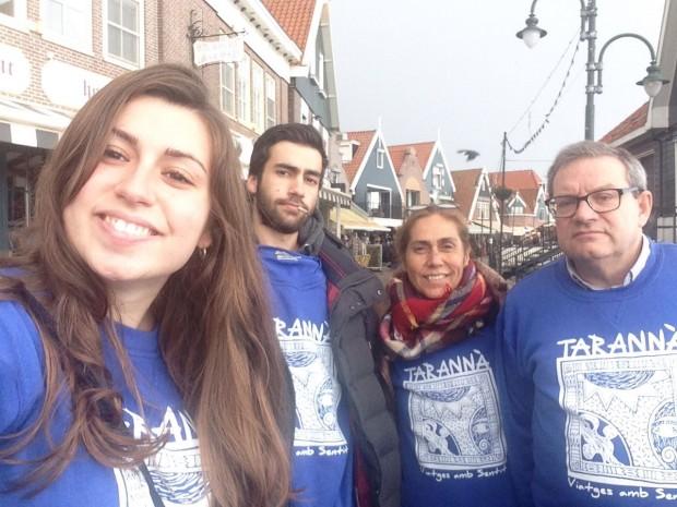 La familia González Montoya nos envía esta foto durante su escapada en Ámsterdam