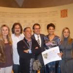 Tarannà premiado en los Galardones del turismo de Generalitat de Catalunya 2012 por promover el turismo sostenible y alternativo