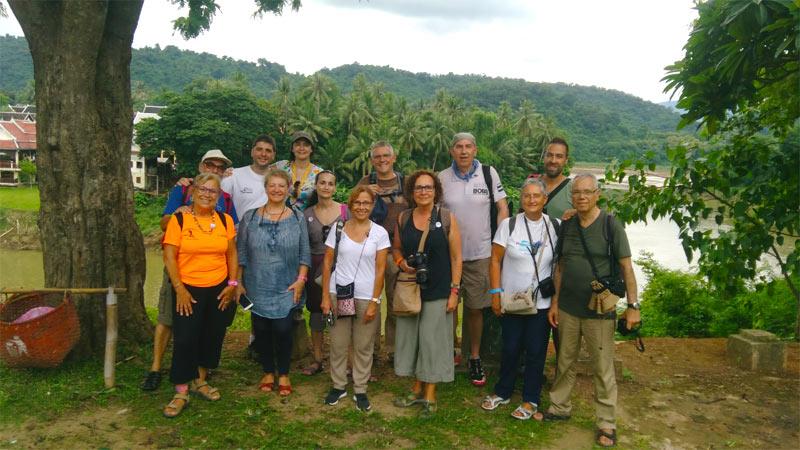 Grupo Tarannà de viaje por Laos y Camboya