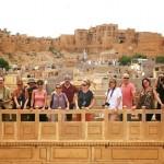 Viajeros de nuestro grupo del Viaje a India del Norte Turbantes