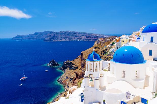 Islas griegas: Santorini