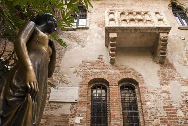 Casa de Romeo y Julieta en Verona