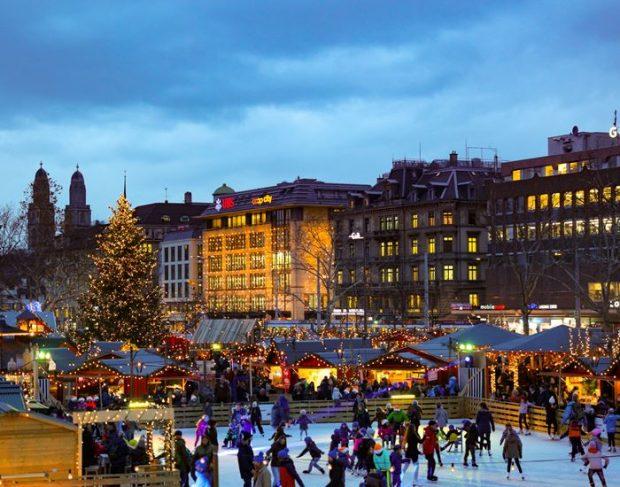 Los Mejores Mercados de Navidad de Europa-Zurich