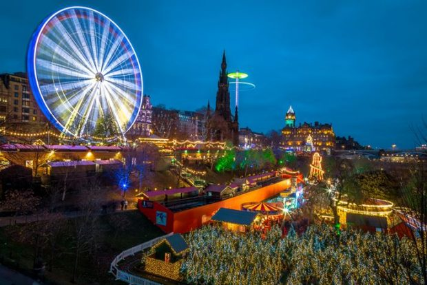 Los Mejores Mercados de Navidad de Europa-Edimburgo