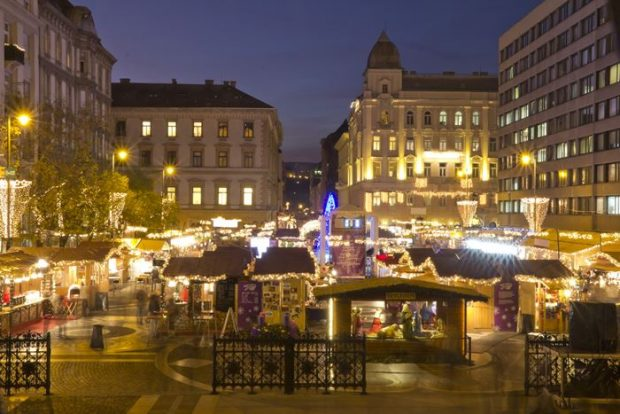 Los Mejores Mercados de Navidad de Europa-Budapest