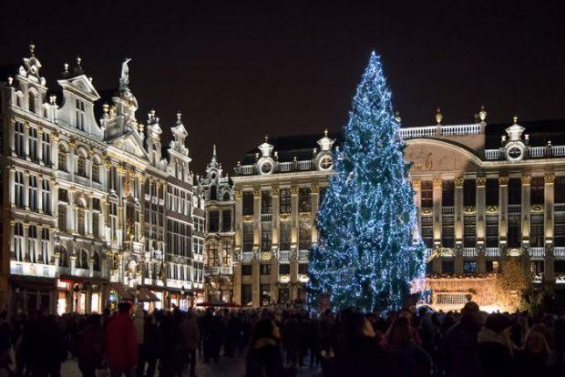 Los Mejores Mercados de Navidad de Europa-Bruselas