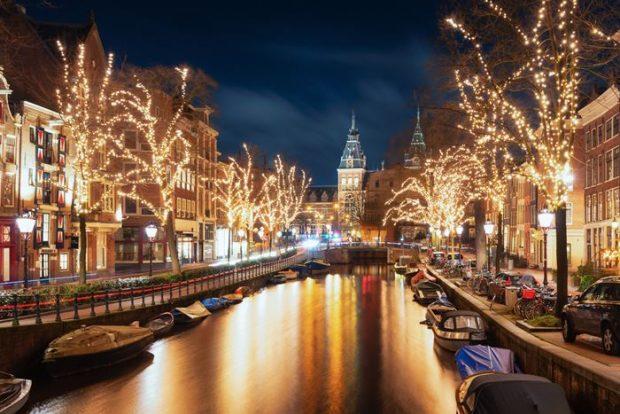 Los Mejores Mercados de Navidad de Europa-Amsterdam
