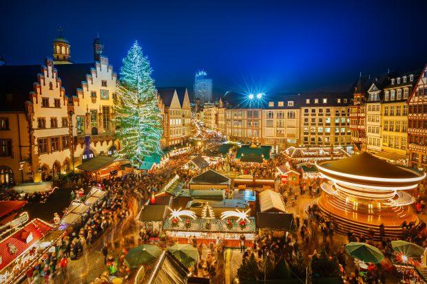 Mercados navideños: puente de diciembre en Frankfurt