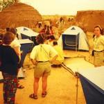 Plácida y húmeda noche en Níger. Aventuras Africanas
