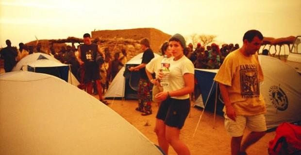 Plácida y húmeda noche en Níger