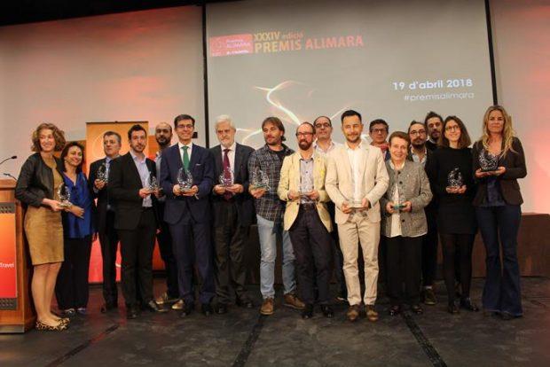 Tarannà en los XXXIV Premios Alimara