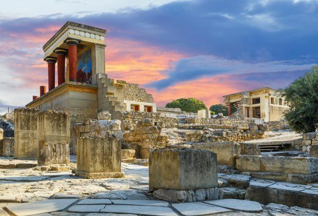 que ver en Creta: palacio de Knossos
