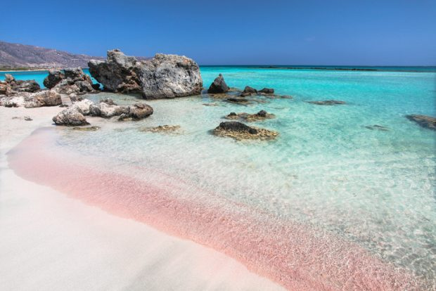 las mejores playas de Creta: playa de Elafonisi