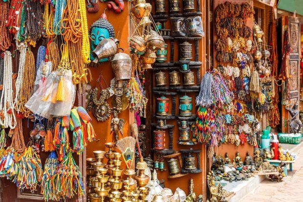 que ver en Kathmandu: barrio de Thamel
