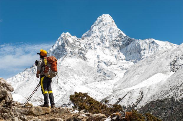 trekking al campo base del Everest en Nepal