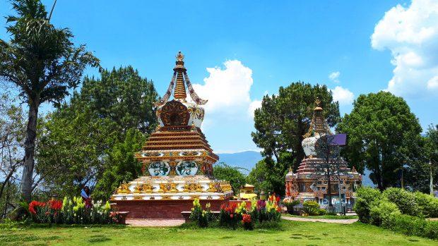 que ver en nepal: monasterio de Kopan