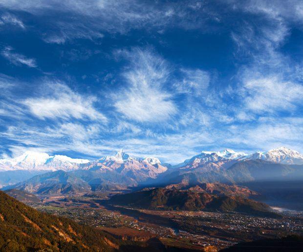 que ver en Pokhara: mirador de Sarangkot