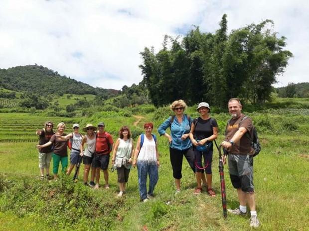 Grupo Tarannà en su viaje a Myanmar