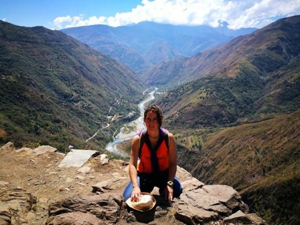 Maribel desde su querido Perú