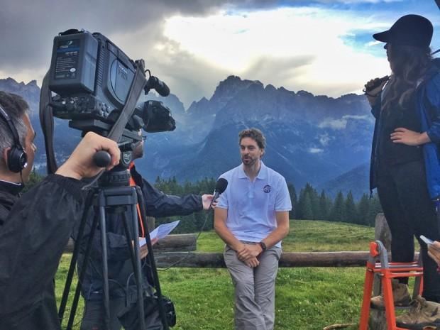 Tarannà Trekking con Pau Gasol y Miguel Angel Muñoz en las Dolomitas