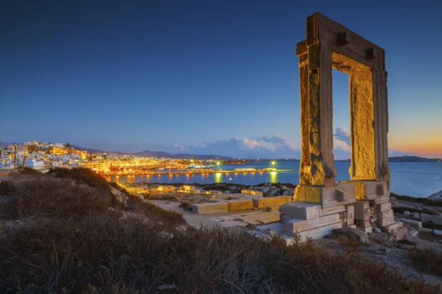 Naxos: templo de Apolo
