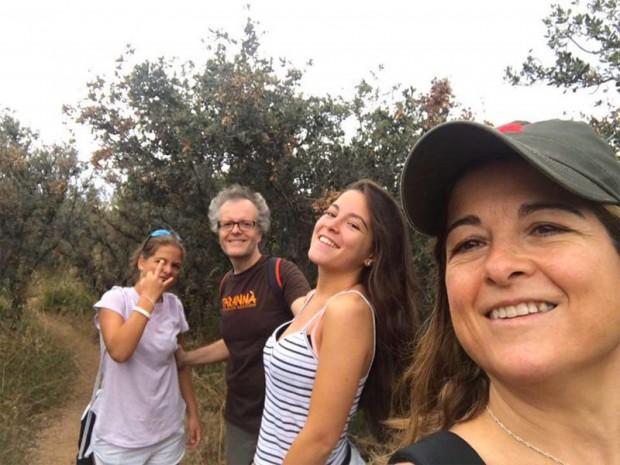 La familia Chiva de vacaciones