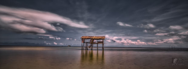 viaje a Borneo: playas
