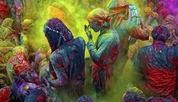 Viaje a India. Festival Holi