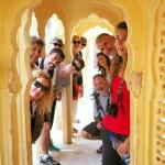 Viajeros del grupo a India del Norte. Cuatro Religiones