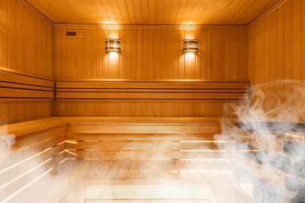 Viaje a Laponia en Navidad: sauna finlandesa