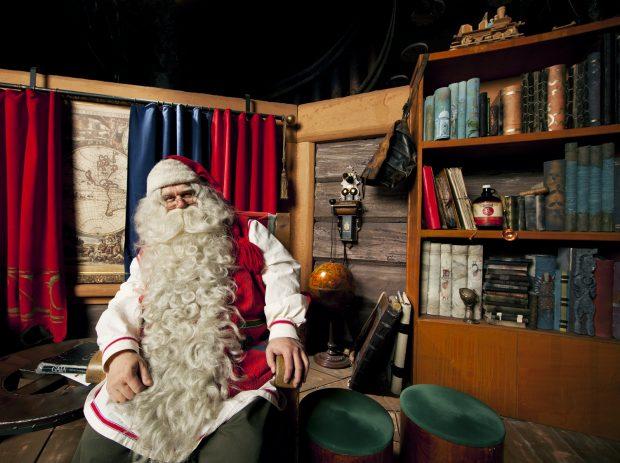 Viaje a Laponia en Navidad. Visita a Papá Noel