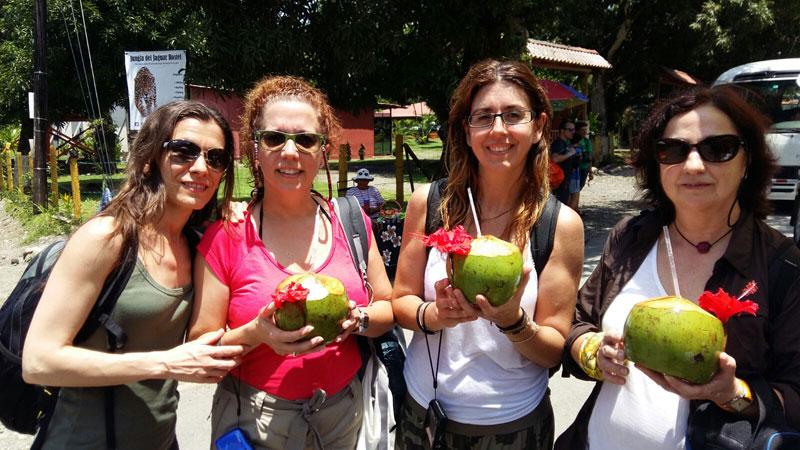 Grupo Tarannà de viaje por Costa Rica, Naturaleza pura