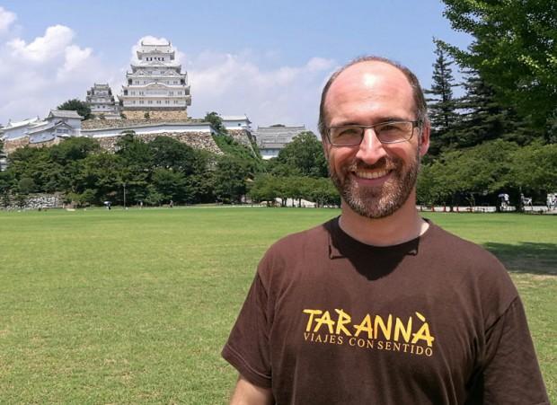 Nuestro compañero Jordi de viaje por Japón
