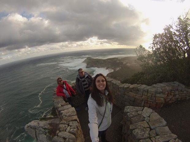 Familia Masferrer-Girao en su viaje a Sudáfrica