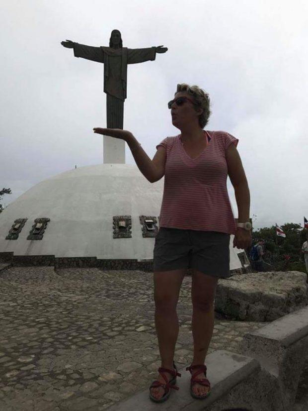 Marta saluda desde la República Dominicana