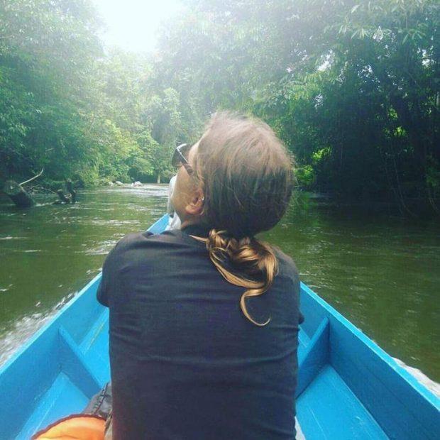 Mar fascinada en su viaje a Borneo