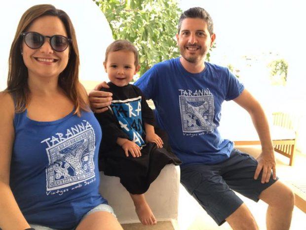 Edgar y familia de viaje por Grecia