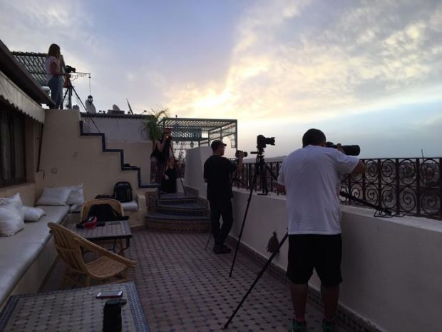 Nuestro grupo en viaje fotográfico a Marruecos